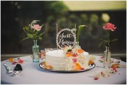 Katie slater wedding cake