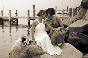 wedding 23 paige and crystal on rocks black and white Val from sweetest days