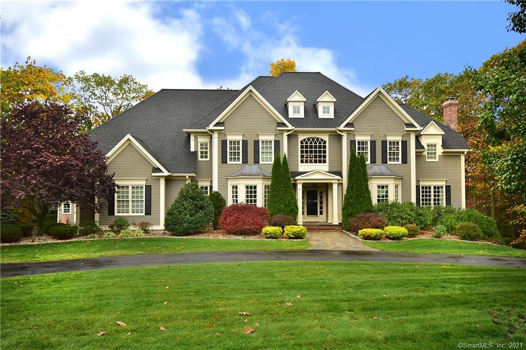 Beautiful large house with green lawn